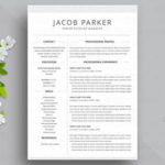 53 Inspirational Two Column Resume Template by Images