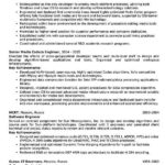 55 Cool Senior Systems Engineer Resume Sample for Design