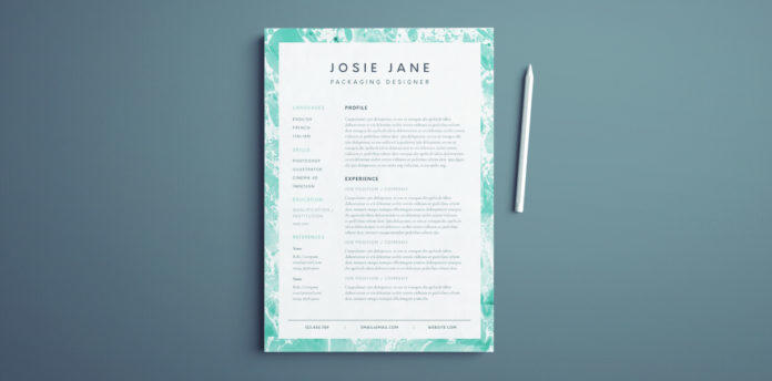 56 Fresh Indesign Resume Template Free by Gallery