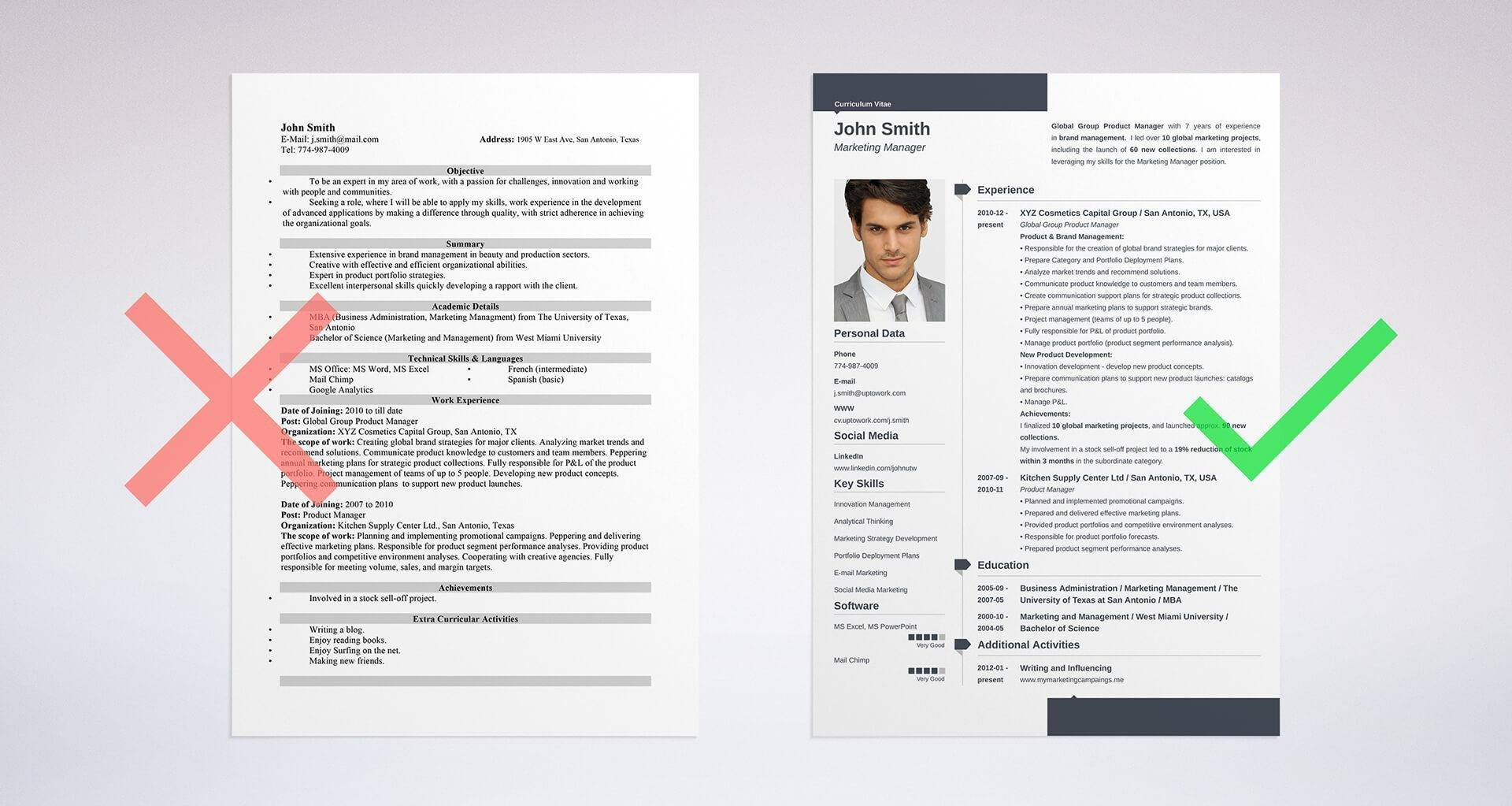 57 Nice Dating Resume Template by Pics