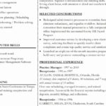 58 Nice Wordperfect Resume Template for Images