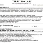 59 Fresh Truck Driver Resume by Pictures