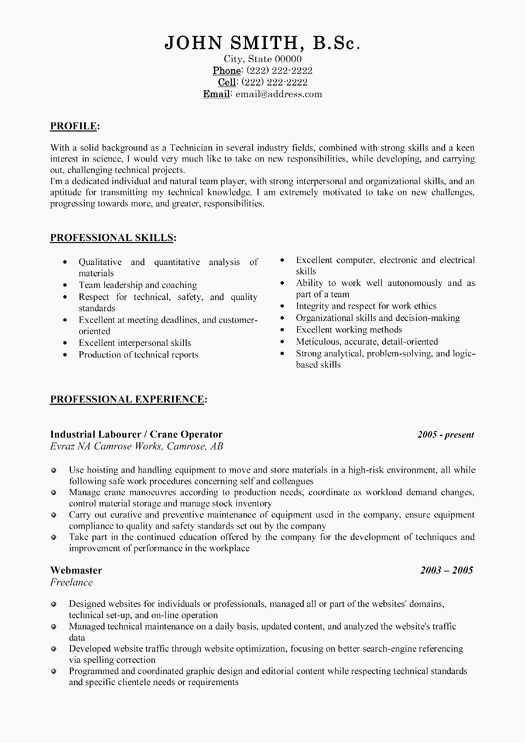 59 Inspirational General Resume Objective Examples by Pics