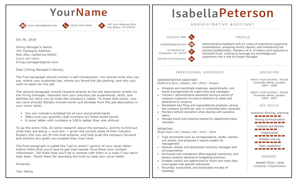 59 New Resume Front Page with Gallery