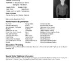 60 Nice Exotic Dancer Resume Example by Gallery