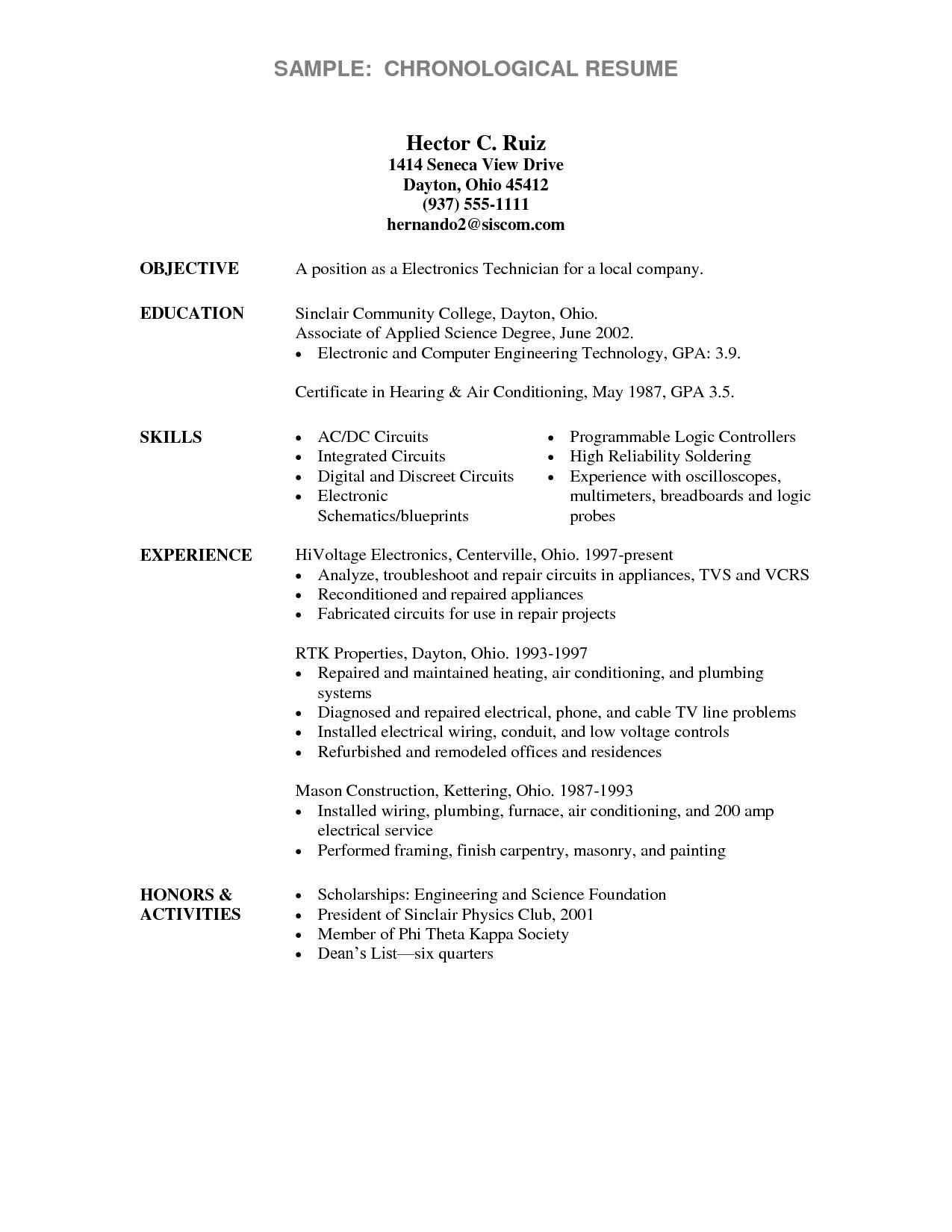 60 Top Associate Degree Resume Sample for Pics