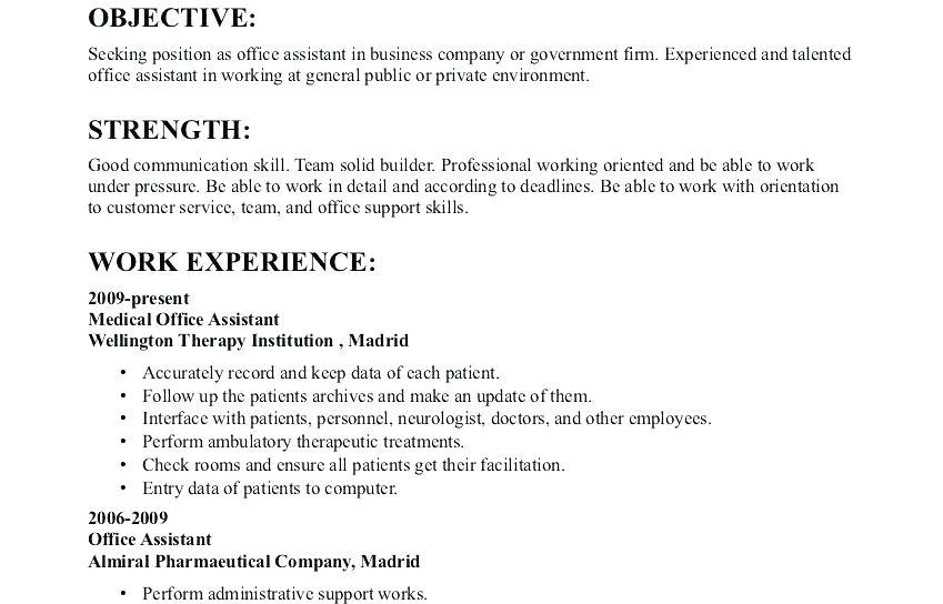 61 Top General Resume Objective Examples for Graphics