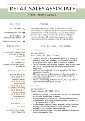 63 Best Cashier Resume Sample with Pics