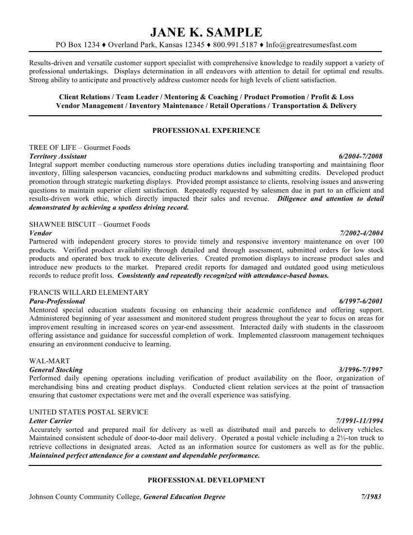 63 Nice General Resume Objective Examples for Images