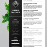 64 Top Resume Header Template with Gallery