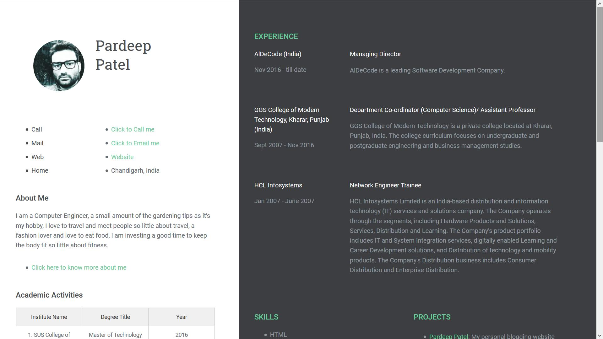 65 Fresh Blogger Resume Template for Graphics