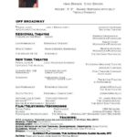 65 Great Exotic Dancer Resume Example with Design