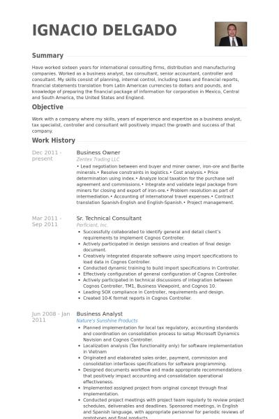 67 Great Small Business Owner Resume with Design
