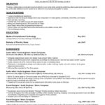 67 Inspirational Music Producer Resume for Pics
