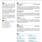 69 Great Two Column Resume Template with Images