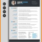 70 Great Infographic Resume Template Word Free Download with Images