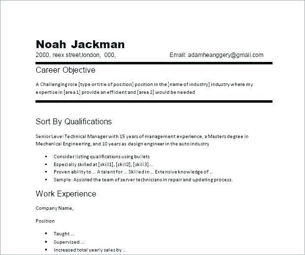 71 Best General Resume Objective Examples for Images