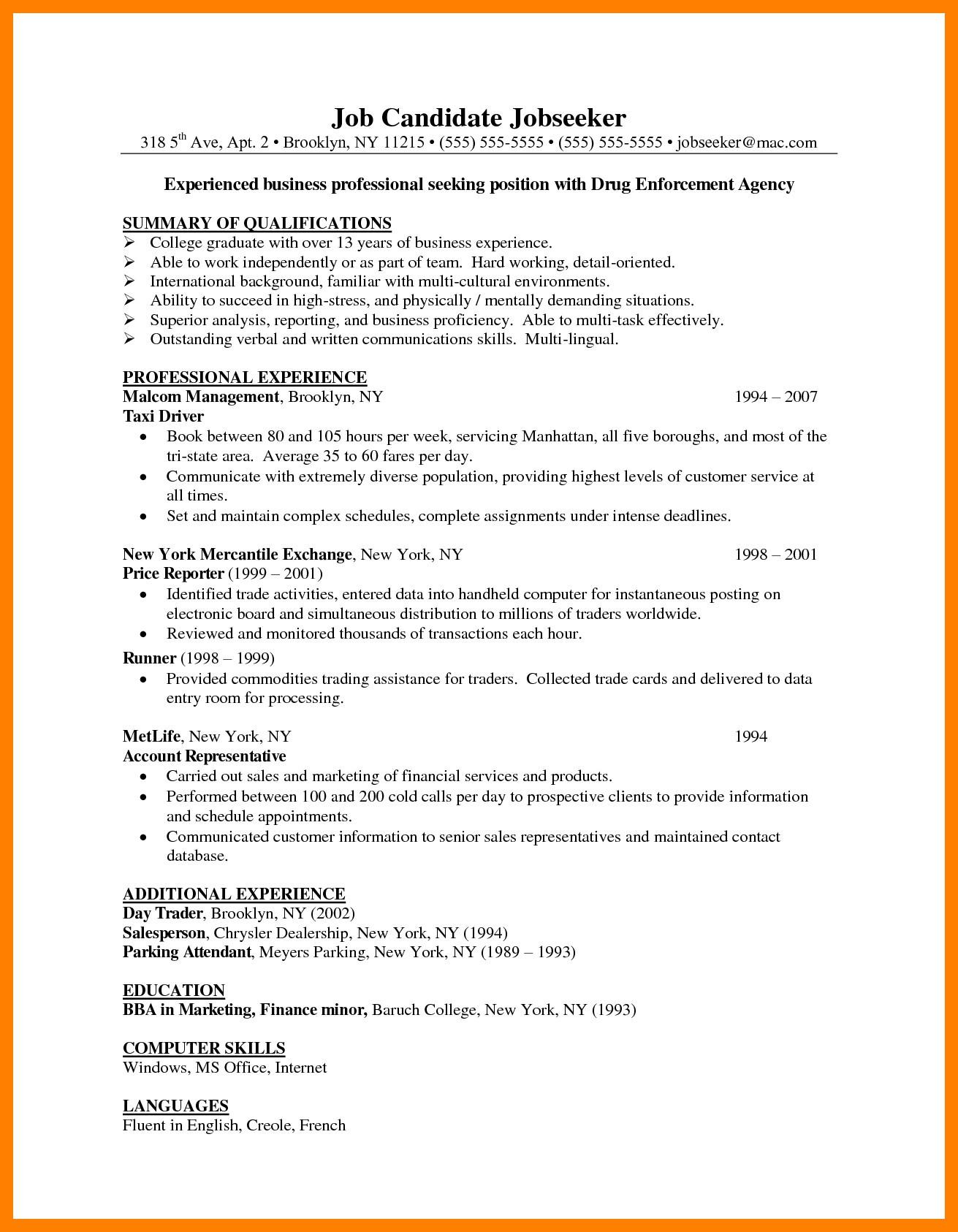 72 Lovely Associate Degree Resume Sample by Graphics