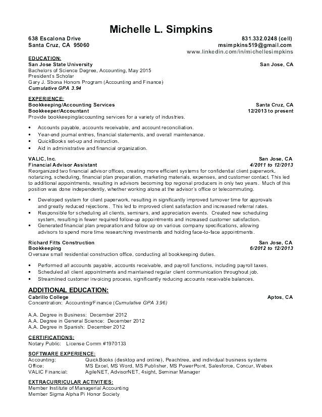72 New Accounts Receivable Resume Objective by Design