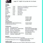 73 Fresh Exotic Dancer Resume Example by Images