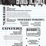74 Lovely Handwritten Resume by Graphics