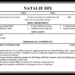 75 Top Exotic Dancer Resume Example for Ideas