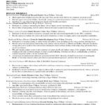 76 Nice Up To Date Resume by Pictures