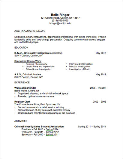 77 New Associate Degree Resume Sample for Graphics
