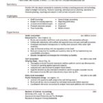 78 Best Accounting Resume Examples for Images