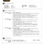 78 Inspirational Accounting Resume Examples for Pics