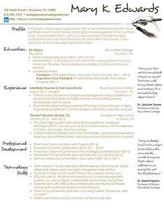 79 Awesome Handwritten Resume Examples by Pictures