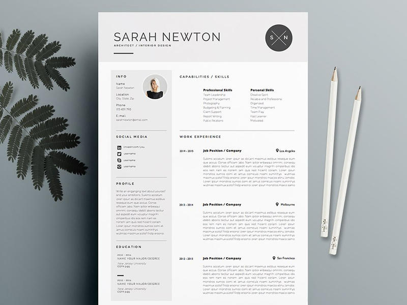 79 Beautiful Blogger Resume Template for Images