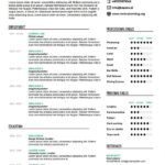 79 Cool What A Perfect Resume Looks Like for Graphics
