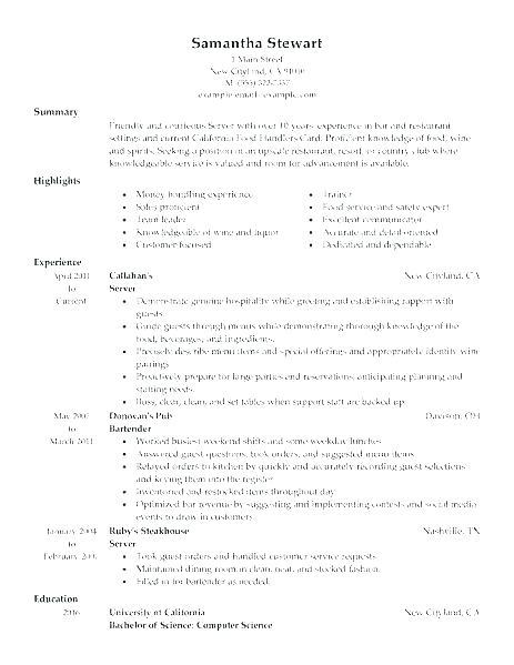 79 Inspirational General Resume Objective Examples by Gallery