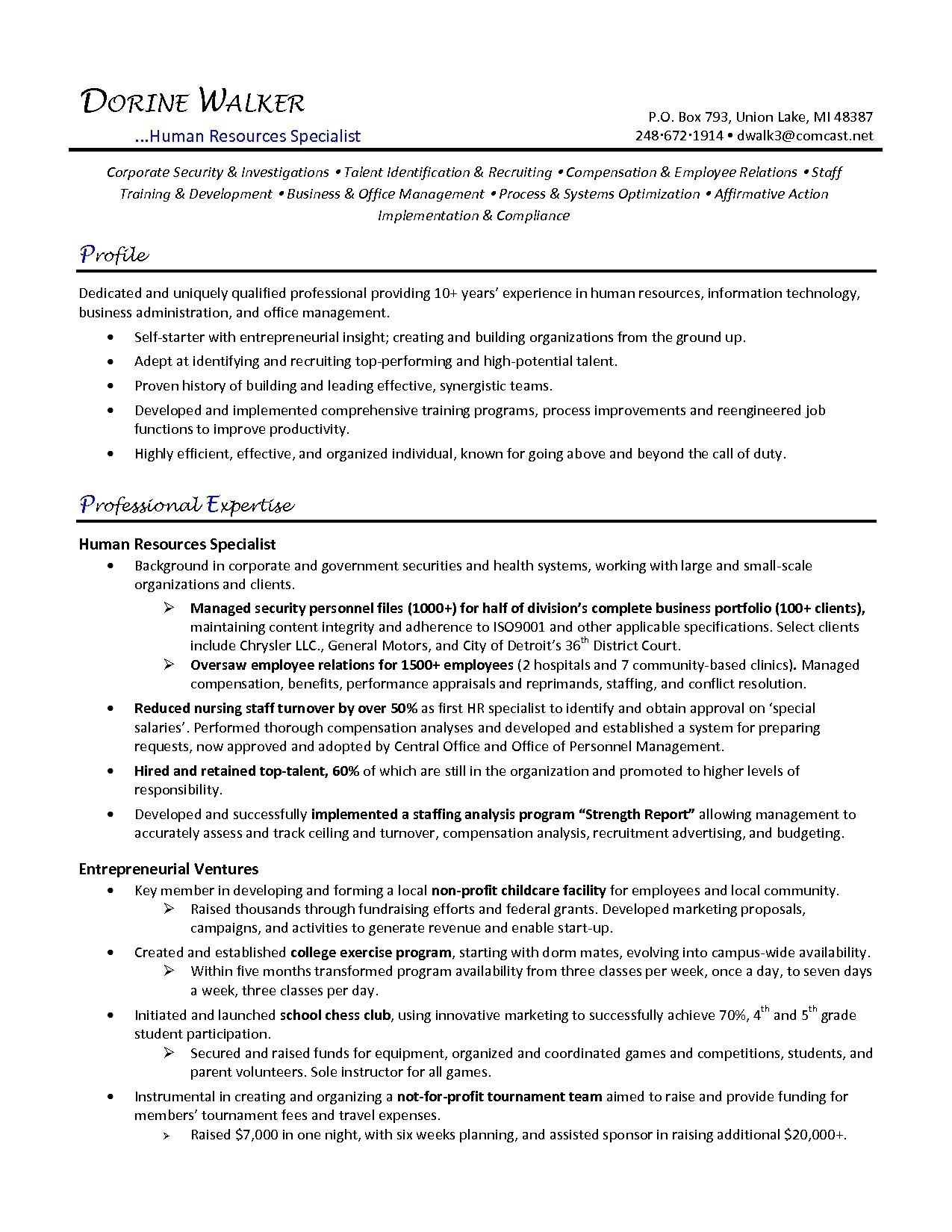80 Great Payroll Specialist Resume with Pictures