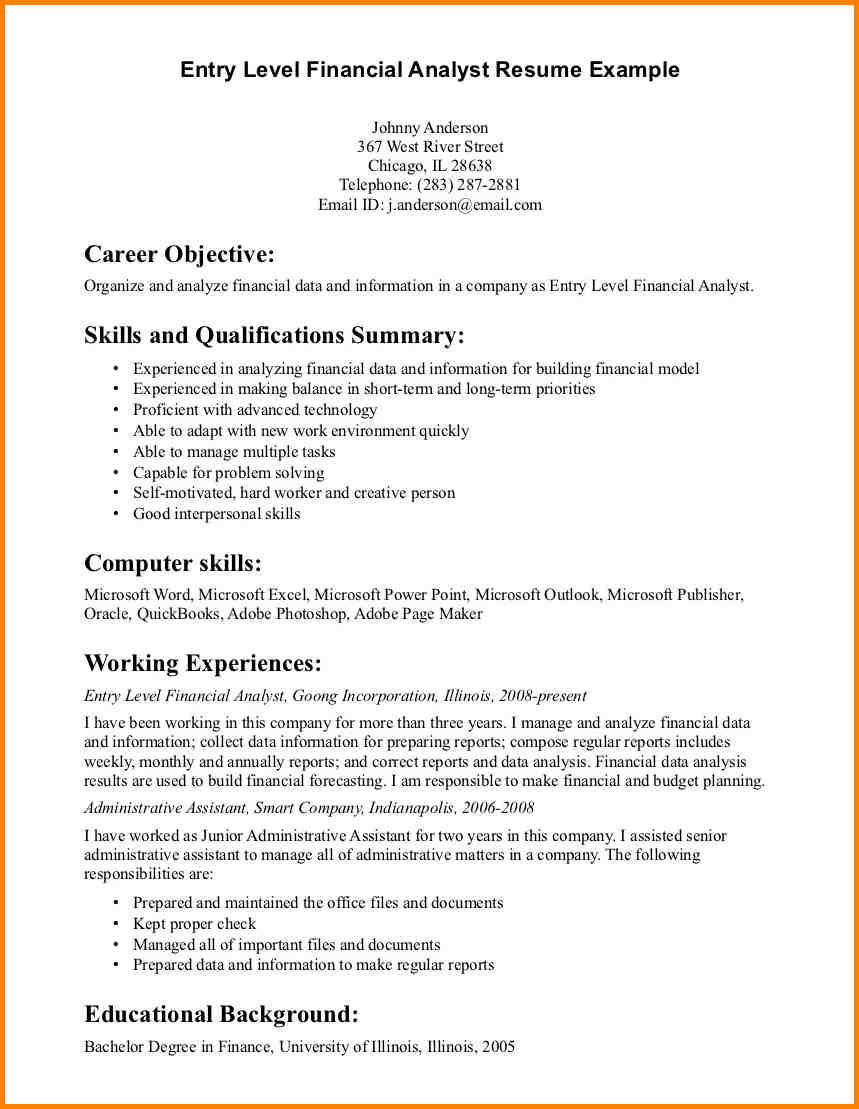 82 Cool General Resume Objective Examples for Images