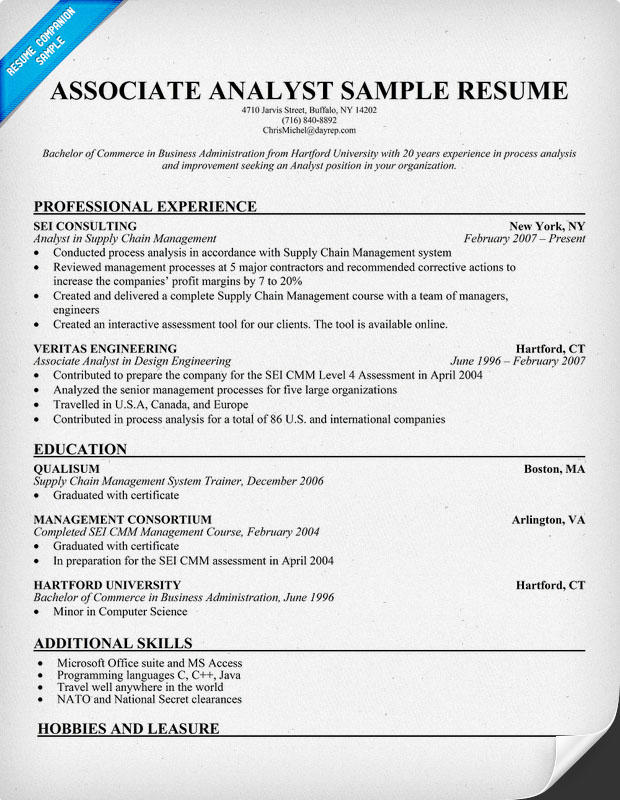 85 Excellent Associate Degree Resume Sample by Pictures