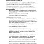 86 Excellent Concierge Job Description Resume for Gallery