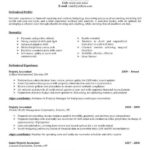 86 Nice Accounting Resume Examples by Images