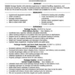 87 Top Material Handler Resume with Images