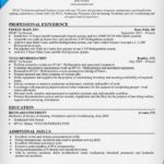 88 Cool Hvac Resume Sample No Experience with Images