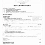 89 Lovely Forklift Operator Resume by Images