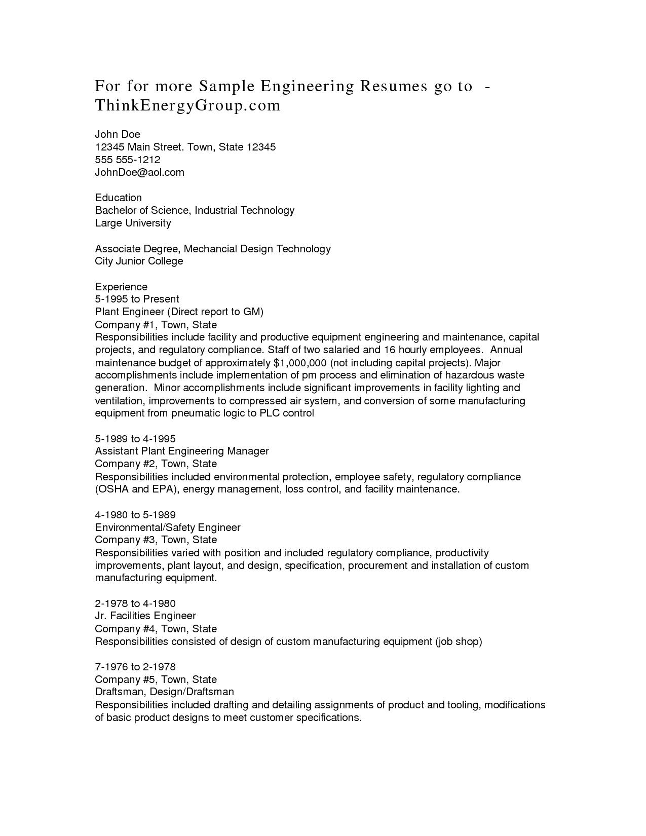 90 Nice Associate Degree Resume Sample for Images