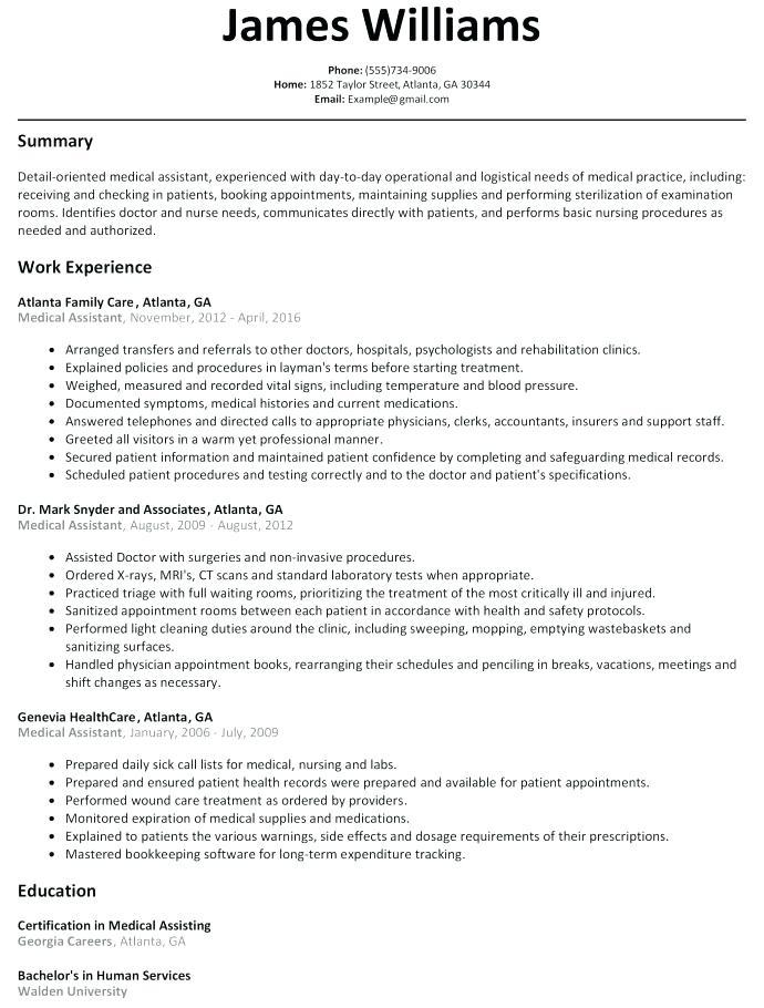 91 Best Sample Hr Generalist Resume for Pictures