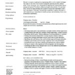 93 Nice Entry Level Software Engineer Resume for Design