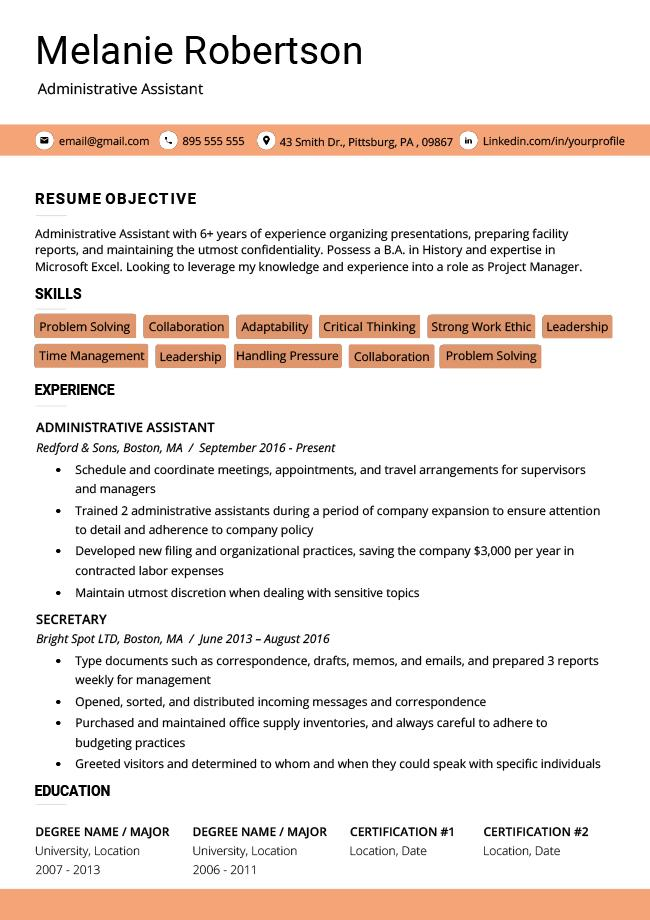 94 Awesome Dating Resume Template with Gallery