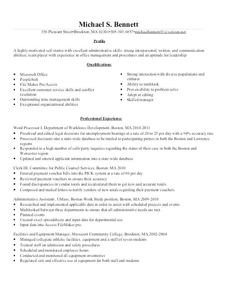94 Lovely Payroll Specialist Resume by Pics