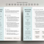 96 Nice Two Column Resume Template by Pictures