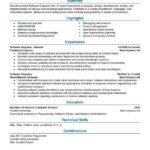 96 Stunning Entry Level Software Engineer Resume with Pics