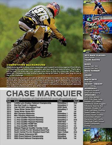 99 Nice Motocross Resume Template by Images
